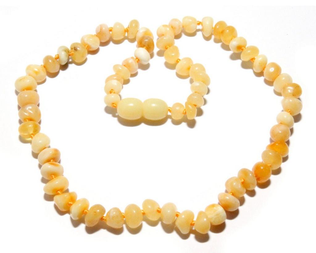 Colar Baby Manteiga Polido - 33 cm